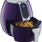 3.7-Quarts Programmable Air Fryer with 8 Cook Presets (Plum) By GOwise