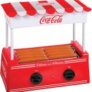 Nostalgia HDR8CK Coca-Cola Hot Dog Warmer for Breakfast Sausages, Brats, Taquitos, Egg Rolls