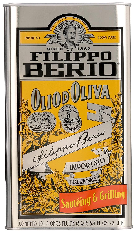 Filippo Berio Olive Oil,OLIO d`Oliva  101.4 Ounce - 3 liter From Italia