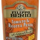 2X Filippo Berio Pesto, Tomato & Ricotta, 6.7 Oz, X2