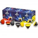 Meseta Italian 48 Dolce Gusto Compatible Coffee Capsule Pods - Supremo, Classico, Intenso Flavors