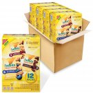 4 box belVita Breakfast Biscuit Bites Variety Pack, 3 Flavors, 4 Boxes of 12 Packs (48 Total Packs)