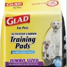 Glad for Pets JUMBO-SIZE Charcoal Puppy Pads   Black Training Pads That ABSORB &