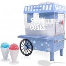 Nostalgia Vintage Countertop Snow Cone Maker Makes 20 Icy Treats,