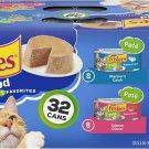 Friskies Pate Wet Cat  for Adult; kitten ;senior cat  Food  Seafood Favorites - (32) 5.5 oz. Cans