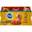 Pedigree Choice Cuts In Gravy Adult Canned Wet Dog Chicken Food Variety 24 Pack