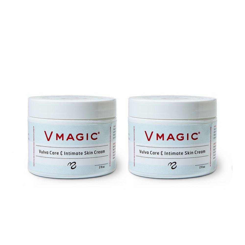 Medicine Mama's Apothecary Vmagic Vulva Care and Intimate Skin Cream, 2 Count