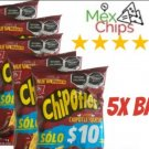 Chipotle Queso Mexican chips BARCEL  ,62 G EACH, 5 BAGS