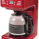 Pop  Color Decor Nostalgia    12-Cup Programmable Coffee Maker
