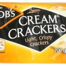 Jacob's Cream Crackers 7.05 Oz,/200 g Pack of 6 -Made in England