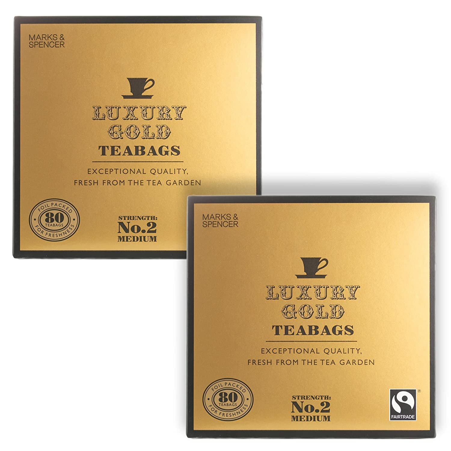 Marks & Spencer Luxury Gold Teabags 160 Bags (From the UK) by Marks & Spencer