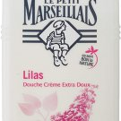 2X  Petit Marseillais( Lilas-Lilac)Shower gel 250 ml From France  Ship from USA