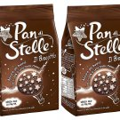 2X  Pan di Stelle Mulino Bianco Biscuit with Cocoa , Hazelnuts 12.3 oz (350g) From Italy Pack of 2
