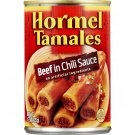 Hormel Beef in chili sauce Tamales, 15 Ounce (Pack of 12)