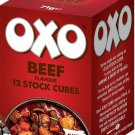 OXO Cubes Beef Flavour 71g X 2 boxes UK England-  British Mini Market