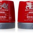 2X  Brylcreem Original Red Hair Cream Original  Cream Red Tub Mens Styling Cream250m  from UK