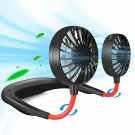 perfect Summer Gift-Portable Neck Fan Hands Free Mini Fan -USB Charge up 12 hours