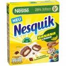 NESQUIK BANANA CRUSH Wholegrain Pillows Breakfast Cereal NEW 350g 12oz -From Europe