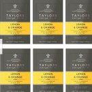 Taylors of Harrogate Lemon & Orange Black Tea, 20 Count (Pack of 6)  120 count
