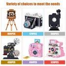 Mini Retro Camera Building Blocks Model Toys Mini Blocks Camera Model Toy