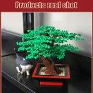 Bonsai Tree Building Blocks Street View Plants Model Collectible
