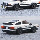 Toyota AE86 High-Tech Speed Champion Car Supercar Building Blocks Racing Car Model C