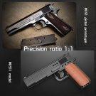 M1911 Gun Building Blocks PUBGS Automatic Pistol MOC SWAT Pistols Model Bricks City Shootable