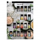 Cool Gift Set, Artisan  Salts Flavors Include Garlic, Rosemary, Lemon and More, Pack of 18