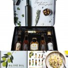 Cool Gift Set, Olive Oil Gift Set, Flavors Include Smoky Bacon, Mushroom, Oregano