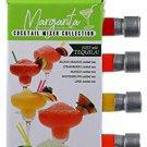 Gift Set Margarita Mixer, 5  Flavors: Orange, Strawberry, Mango, Watermelon,  Lime,+Rimming Salt