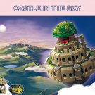 Laputa Castle In The Sky Castle Music Box Building Blocks Ideas Castle Model Set
