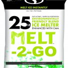 Snow Joe Instant   Salt   25 lbs  Pet Friendly CMA Blended Ice Melter, 25-lb Bag From Canada