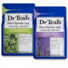 Dr Teal's Epsom Salt Bath Soaking Solution, Eucalyptus and Lavender, 2 Count, 3lb Bags