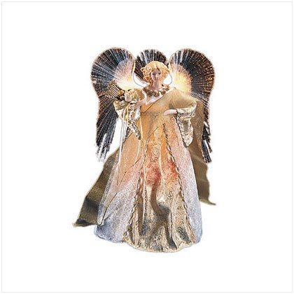 Discount Christmas Shopping: Angel With Lighted Wings