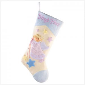 Discount Christmas Shopping: Baby's First Christmas Stocking