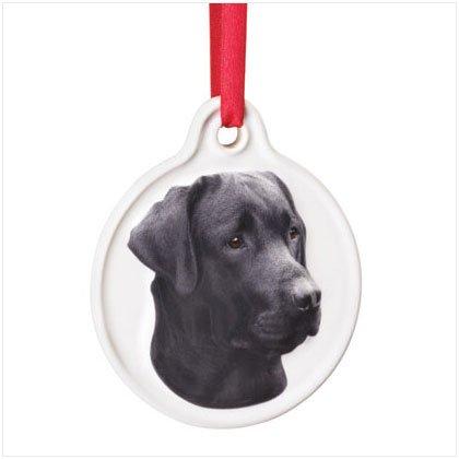 Discount Christmas Shopping: Best Friend Black Labrador Ornament