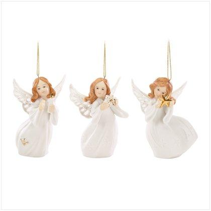 Discount Christmas Shopping: Christmas Angel Ornament Set of 3