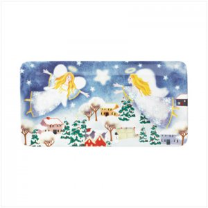 Discount Christmas Shopping: Christmas Angel Serving Platter