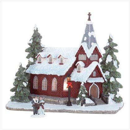 Discount Christmas Shopping: Christmas Church Light