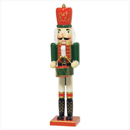 Discount Christmas Shopping: Nutcracker Drummer