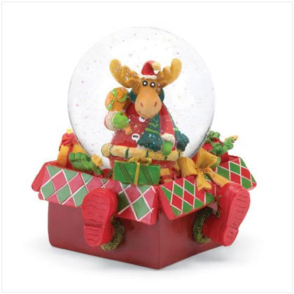 Discount Christmas Shopping: Reindeer Water Ball Snowglobe