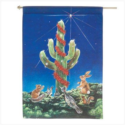Discount Christmas Shopping: Saguaro Night Light Flag