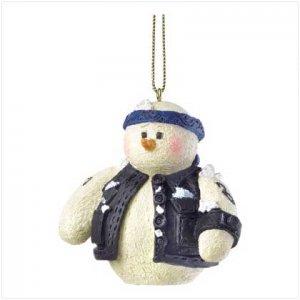 Discount Christmas Shopping: Snowberry Cuties Biker Dude Ornament