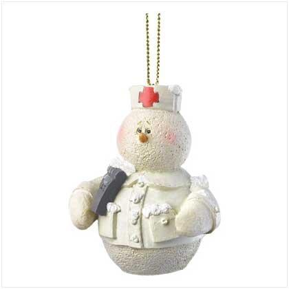 Discount Christmas Shopping: Snowberry Cuties Nurse Ornament