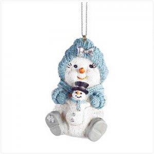 Discount Christmas Shopping: Snowbuddies Powderpuff Ornamnt