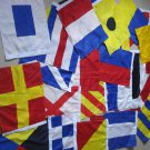 "Naval Signal Flags & Pennants  - 15"" X 18"" - Set of Total 26 flag - Marine Code"