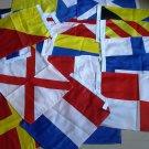 "Nautical Sailboat Boating LG Signal Code FLAG- 15"" X 18"" - Set of Total 40 flag"