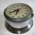 SCHATZ Marine WALL QUARTZ Clock * BRASS * Made in GERMANY
