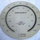 YANGI ANEROID Barometer DIAL - LARGE -1987- No. 8792 - 100% ORIGINAL  - JAPAN