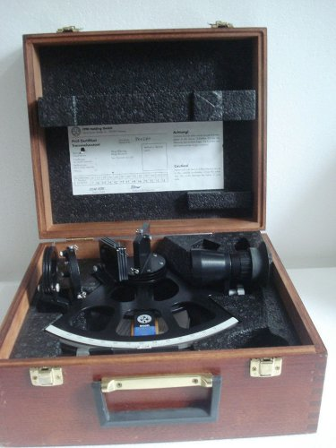 LATEST MODEL - Marine Sextant VEB FREIBERGER - No. 940281 - 1995 - Made in GDR
